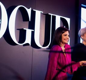 "Vogue Greece ξανά: Η ""βίβλος της μόδας"" επέστρεψε με ένα μεγάλο πάρτι (φώτο) - Κυρίως Φωτογραφία - Gallery - Video"