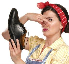 Μυρίζουν άσχημα τα παπούτσια σας; Ιδού 6 γρήγορες λύσεις! - Κυρίως Φωτογραφία - Gallery - Video