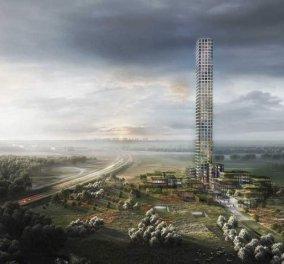 Κι όμως συνέβη: Ουρανοξύστης 320 μέτρων σε μια πόλη με 7.000 κατοίκους στη Δανία (φωτό) - Κυρίως Φωτογραφία - Gallery - Video