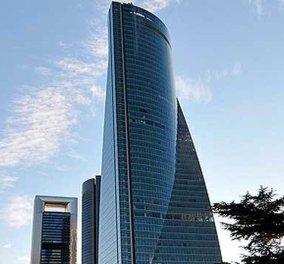 Συναγερμός στη Μαδρίτη: Εκκενώνεται ουρανοξύστης που στεγάζει πρεσβείες - Απειλή για βόμβα  - Κυρίως Φωτογραφία - Gallery - Video