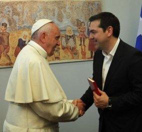 Πάπας Φραγκίσκος: Μίλησα με έναν πολιτικό που σέβομαι, τον λένε Αλέξη Τσίπρα  -Αξίζει Νόμπελ Ειρήνης - Κυρίως Φωτογραφία - Gallery - Video