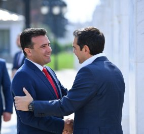 Τσίπρας στα Σκόπια: Καρέ-καρέ η ιστορική επίσκεψη του πρωθυπουργού (φωτό & βίντεο) - Κυρίως Φωτογραφία - Gallery - Video