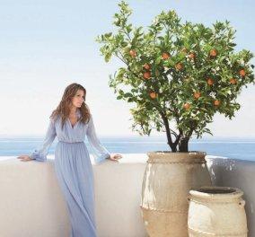 Η εγγονή της Estée Lauder  υμνεί το Αιγαίο & βαφτίζει το άρωμά της Aegea Blossom - Βομβαρδίζει με Ελλαδα τα social media της (ΦΩΤΟ)  - Κυρίως Φωτογραφία - Gallery - Video