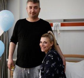 Topwoman η Ελληνίδα Μ. Καραβοκύρη που έφερε στον κόσμο το μωρό της από τρεις ''γονείς'' - Κυρίως Φωτογραφία - Gallery - Video