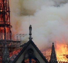 Παναγία των Παρισίων: Ξεπερνούν τα 750 εκατ. οι δωρεές – Κινητοποίηση σε όλο τον κόσμο! - Κυρίως Φωτογραφία - Gallery - Video