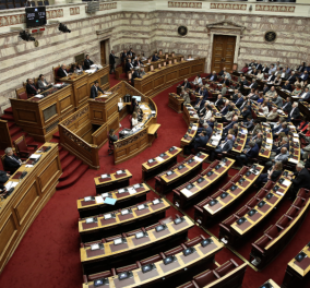 LIVE: Η συζήτηση  στην Βουλή για 13η σύνταξη και μειώσεις ΦΠΑ  - Η ομιλία του Πρωθυπουργού - Κυρίως Φωτογραφία - Gallery - Video