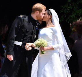 Φωτό από την πρώτη επέτειο του αξέχαστου γάμου του Πρίγκιπα Χάρι με την Μέγκαν Μαρκλ - Κυρίως Φωτογραφία - Gallery - Video