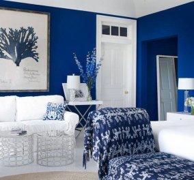 Δείτε τα πιο όμορφα μπλε δωμάτια και εμπνευστείτε και εσείς – Δημιουργήστε ένα γαλήνιο υπνοδωμάτιο (φωτό) - Κυρίως Φωτογραφία - Gallery - Video