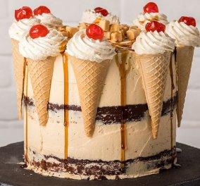 Άκης Πετρετζίκης: Σούπερ εντυπωσιακή τούρτα με γεύση καραμέλα!  - Κυρίως Φωτογραφία - Gallery - Video