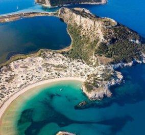 Βοϊδοκοιλιά: Μοναδικής ομορφιάς η φημισμένη παραλία της Μεσσηνίας - Η φωτογραφία της ημέρας - Κυρίως Φωτογραφία - Gallery - Video