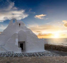 Μύκονος: Όταν η φύση κάνει θαύματα στο νησί των ανέμων - Καταπληκτική η φωτογραφία της ημέρας - Κυρίως Φωτογραφία - Gallery - Video
