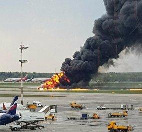Τραγωδία στην Ρωσία: Αεροπλάνο τυλίχτηκε στις φλόγες – Στους 41 οι νεκροί, ανάμεσά τους 2 παιδιά - Κυρίως Φωτογραφία - Gallery - Video