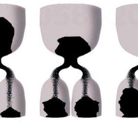 Το σκίτσο του Δημήτρη Χαντζόπουλου με 3 πυξίδες & σκιές τα πρόσωπα του Πρωθυπουργού του - Κυρίως Φωτογραφία - Gallery - Video