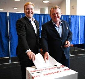 Ευρωεκλογές 2019 στη Δανία: Ο πρωθυπουργός της χώρας αποκάλυψε ότι ψήφισε το γιο του  - Κυρίως Φωτογραφία - Gallery - Video