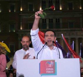"""Τσίπρας στο Σύνταγμα: """"Την Κυριακή ψηφίζουμε για τη ζωή μας- Το φθινόπωρο οι εθνικές εκλογές"""" (φώτο-βίντεο) - Κυρίως Φωτογραφία - Gallery - Video"""