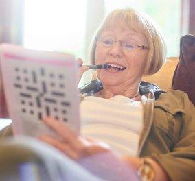 Είστε άνω των 50; To σταυρόλεξο και το Sudoku σας δίνουν μυαλό, νεότερου κατά 8 χρόνια  - Κυρίως Φωτογραφία - Gallery - Video