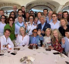Ο Valentino γιόρτασε τα γενέθλιά του με την Μαρί Σαντάλ, τον Πρίγκιπα Παύλο & τους διάσημους φίλους τους (φωτό)  - Κυρίως Φωτογραφία - Gallery - Video