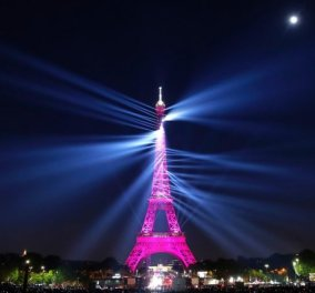 Ήχος και φως για τα 130 χρόνια του Πύργου του Άιφελ – Εκπληκτικές φωτό & βίντεο - Κυρίως Φωτογραφία - Gallery - Video