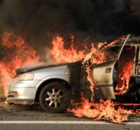 Αρκαδία: Απανθρακωμένο πτώμα μέσα σε αυτοκίνητο – Πάγωσαν οι πυροσβέστες με το θέαμα! - Κυρίως Φωτογραφία - Gallery - Video