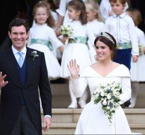 Αυτή είναι πριγκίπισσα! Η νιόπαντρη Ευγενία σε φωτό & ανάρτηση με τον σύζυγο της, σπάει το βασιλικό πρωτόκολλο  - Κυρίως Φωτογραφία - Gallery - Video