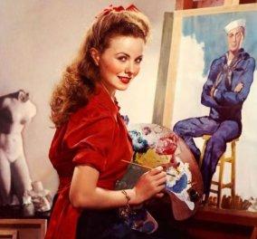 Vintage - Ήταν το  Νο 1 Party Girl του Hollywood: 40 Glamorous φωτο της Jeanne Crain από το 1940 & 1950 - Κυρίως Φωτογραφία - Gallery - Video