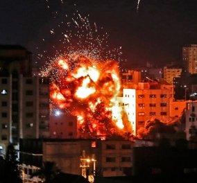 «Κόλαση» στη Μέση Ανατολή: Κλιμακώνεται η επιθετικότητα ανάμεσα σε Ισραήλ-Παλαιστίνη (φωτό & βίντεο) - Κυρίως Φωτογραφία - Gallery - Video