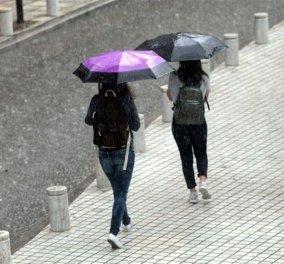Επιδείνωση του καιρού με βροχές, χαλάζι και πτώση της θερμοκρασίας - Κυρίως Φωτογραφία - Gallery - Video