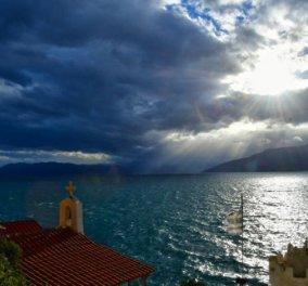 """""""Διπρόσωπος"""" ο καιρός σήμερα Δευτέρα: Νεφώσεις με τοπικές βροχές & ηλιοφάνεια με άνοδο της θερμοκρασίας στα νότια - Κυρίως Φωτογραφία - Gallery - Video"""