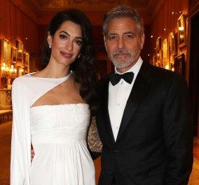 Η Αμάλ Αλαμουντίν με vintage φόρεμα τσάρλεστον - Μα τι ωραίο ζευγάρι (φωτό) - Κυρίως Φωτογραφία - Gallery - Video