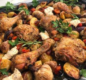 Πεντανόστιμο αρωματικό κοτόπουλο με λαχανικά από τον Άκη Πετρετζίκη - Κυρίως Φωτογραφία - Gallery - Video