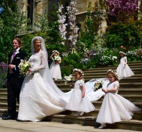 Βασιλικός γάμος στο Μπάκιγχαμ: Η Λαίδη Γαβριέλλα παντρεύτηκε τον γοητευτικό 40χρονο οικονομολόγο – Παρών ο Πρίγκιπας Χάρι χωρίς την Μέγκαν – Η σχέση της νύφης με την Ελλάδα - Κυρίως Φωτογραφία - Gallery - Video