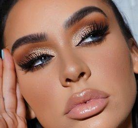 Golden make up: Δείτε βήμα - βήμα πως θα το πετύχετε! (βίντεο)  - Κυρίως Φωτογραφία - Gallery - Video