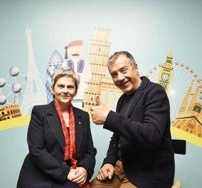 Αποκλειστικό - Ξένη Μπαλωτή: Όλοι συμφωνούν πως η Ευρώπη πρέπει να αλλάξει, αλλά μόνο ο Μακρόν κι ο Θεοδωράκης θέλουν να το κάνουν! - Κυρίως Φωτογραφία - Gallery - Video