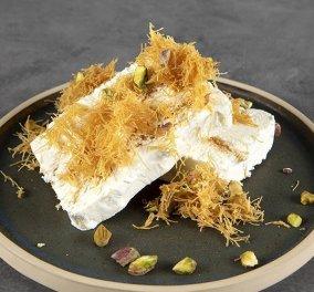 Ένα άκρως γευστικό παγωτό με κανταΐφι από τον Άκη Πετρετζίκη - Κυρίως Φωτογραφία - Gallery - Video