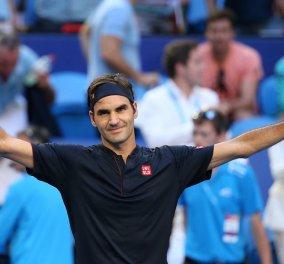 O Roger Federer δικαιωματικά έτοιμος να φάει μια μακαρονάδα αραμπιάτα, ξεγυρισμένη – Φαγητό για τον γίγαντα του τένις (βίντεο) - Κυρίως Φωτογραφία - Gallery - Video