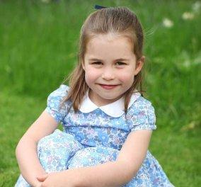 Η Charlotte φτυστή η γιαγιά της Βασίλισσα Ελισάβετ έγινε 4! Οι νέες φωτό από την μαμά της Κέιτ για τα γενέθλια  - Κυρίως Φωτογραφία - Gallery - Video