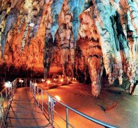 Βίντεο ημέρας: Το σπήλαιο του Περάματος στα Ιωάννινα & η ασύγκριτη ομορφιά του - Κυρίως Φωτογραφία - Gallery - Video