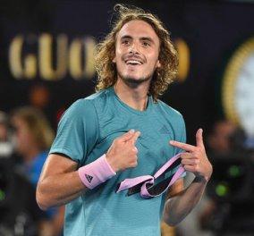 Roland Garros: Ακάθεκτος ο Τσιτσιπάς - Για πρώτη φορά στον 3ο γύρο! - Κυρίως Φωτογραφία - Gallery - Video