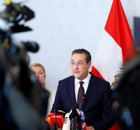 Παραιτήθηκε ο Στράχε μετά τον σάλο – Προς πρόωρες εκλογές η Αυστρία - Κυρίως Φωτογραφία - Gallery - Video