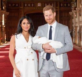 Οι πρώτες φωτό και βίντεο του γιου της Μέγκαν Μαρκλ και του πρίγκιπα Χάρι - Είναι αξιολάτρευτος  - Κυρίως Φωτογραφία - Gallery - Video