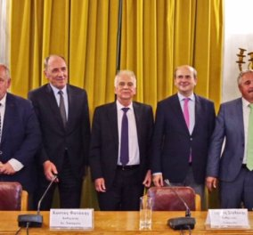 Ελληνικά Πετρέλαια: Έκδοση τιμητικού τόμου για τον ομότιμο καθηγητή Ευστάθιο Τσοτσορό  - Κυρίως Φωτογραφία - Gallery - Video