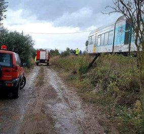Βέροια: Δύο νεκροί από σύγκρουση τρένου με αυτοκίνητο (φωτό-βίντεο) - Κυρίως Φωτογραφία - Gallery - Video