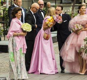 Στα ροζ όλες οι γυναίκες της βασιλικής οικογένειας της Σουηδίας  -Κορίτσια μπράβο, σας πάει! (φώτο)  - Κυρίως Φωτογραφία - Gallery - Video