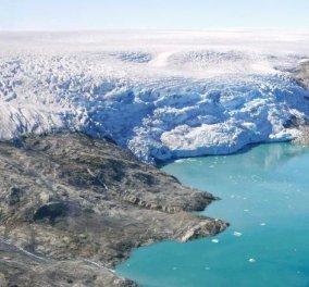 """Το """"κλιματικό χάος"""" είναι εδώ: Πάνω από το 40% των πάγων της Γροιλανδίας  έλιωσε σε μία μέρα (φώτο) - Κυρίως Φωτογραφία - Gallery - Video"""