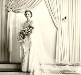 Vintage Pics: 40 υπέροχα νυφικά- πολύ μακριά - αλλά πολύ μακριά - Όπως ήταν στη μόδα τη δεκαετία του 30 (φώτο) - Κυρίως Φωτογραφία - Gallery - Video