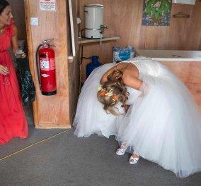 Φωτογραφίες γάμου που δεν θα δούμε ποτέ: Μεθύσια - τσαλακωμένα νυφικά & περίεργα πεθερικά (φώτο) - Κυρίως Φωτογραφία - Gallery - Video