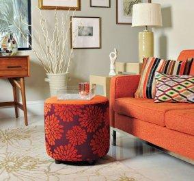 Πορτοκαλί καναπές : Γιατί όχι; - 32 ιδέες με 32 διαφορετικούς, πορτοκαλί , φωτεινούς (φώτο)  - Κυρίως Φωτογραφία - Gallery - Video