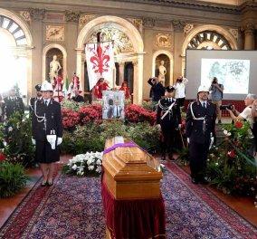 """Συγκίνηση και δέος στην κηδεία του Φράνκο Τζεφιρέλι - Χιλιάδες κόσμου είπαν το """"τελευταίο αντίο"""" στον μεγάλο """"μαέστρο"""" (φώτο-βίντεο) - Κυρίως Φωτογραφία - Gallery - Video"""