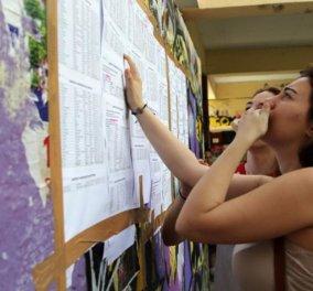 Πανελλήνιες 2019: Τέλος στην αγωνία χιλιάδων μαθητών - Σήμερα οι βαθμολογίες των μαθημάτων - Κυρίως Φωτογραφία - Gallery - Video