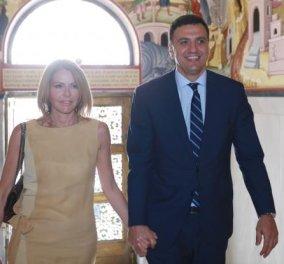 Οι φωτό του ζεύγους του Ιουνίου: Μπαλατσινού και Κικίλιας με τον Ιερώνυμο – Πήραν ευλογία - Κυρίως Φωτογραφία - Gallery - Video